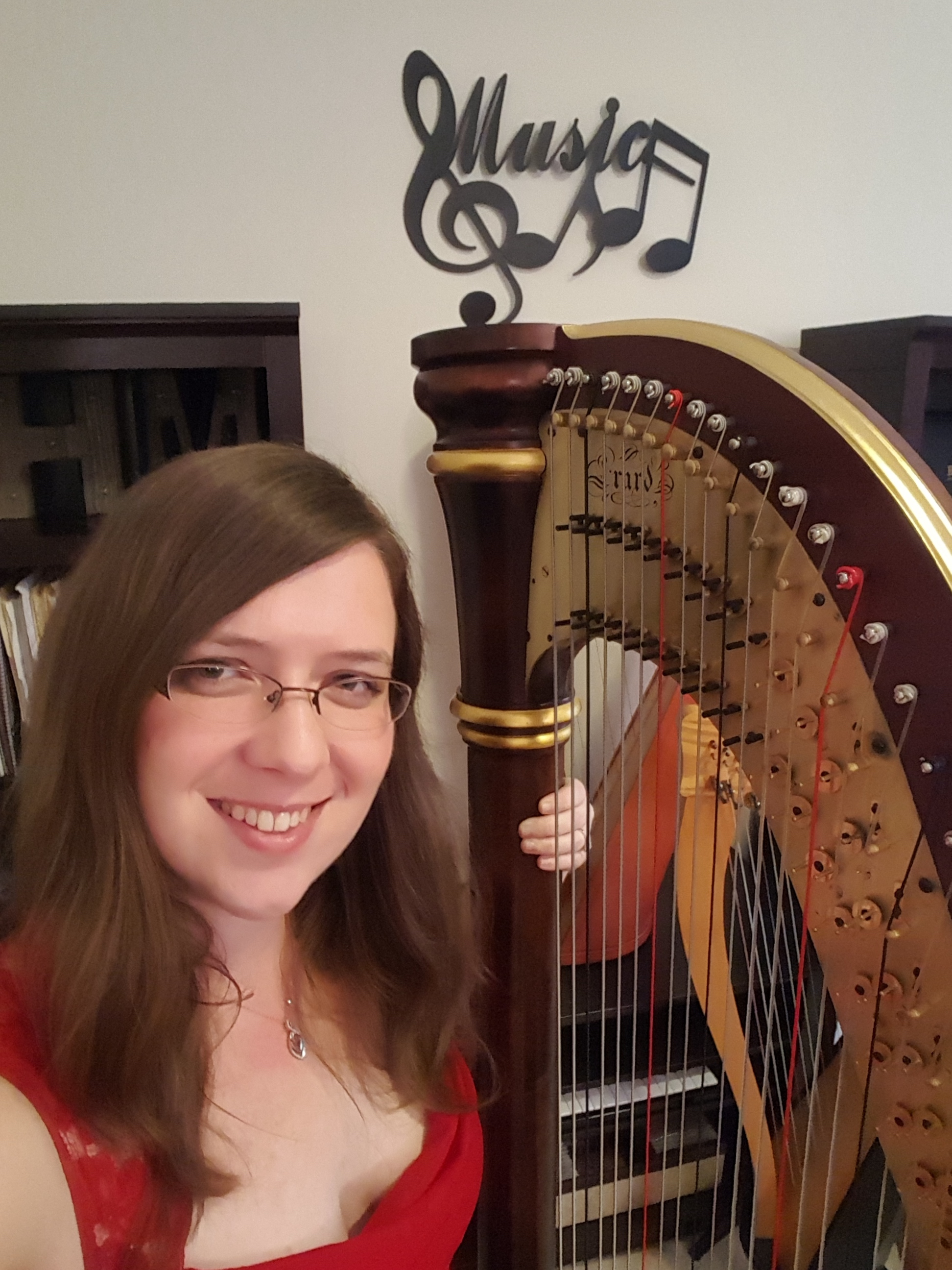 Elizabeth Webb, Harp Teacher