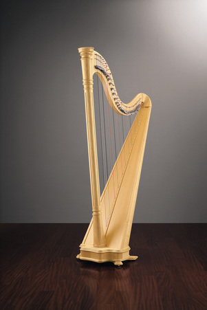Salvi Ana lever harp 38 string for sale