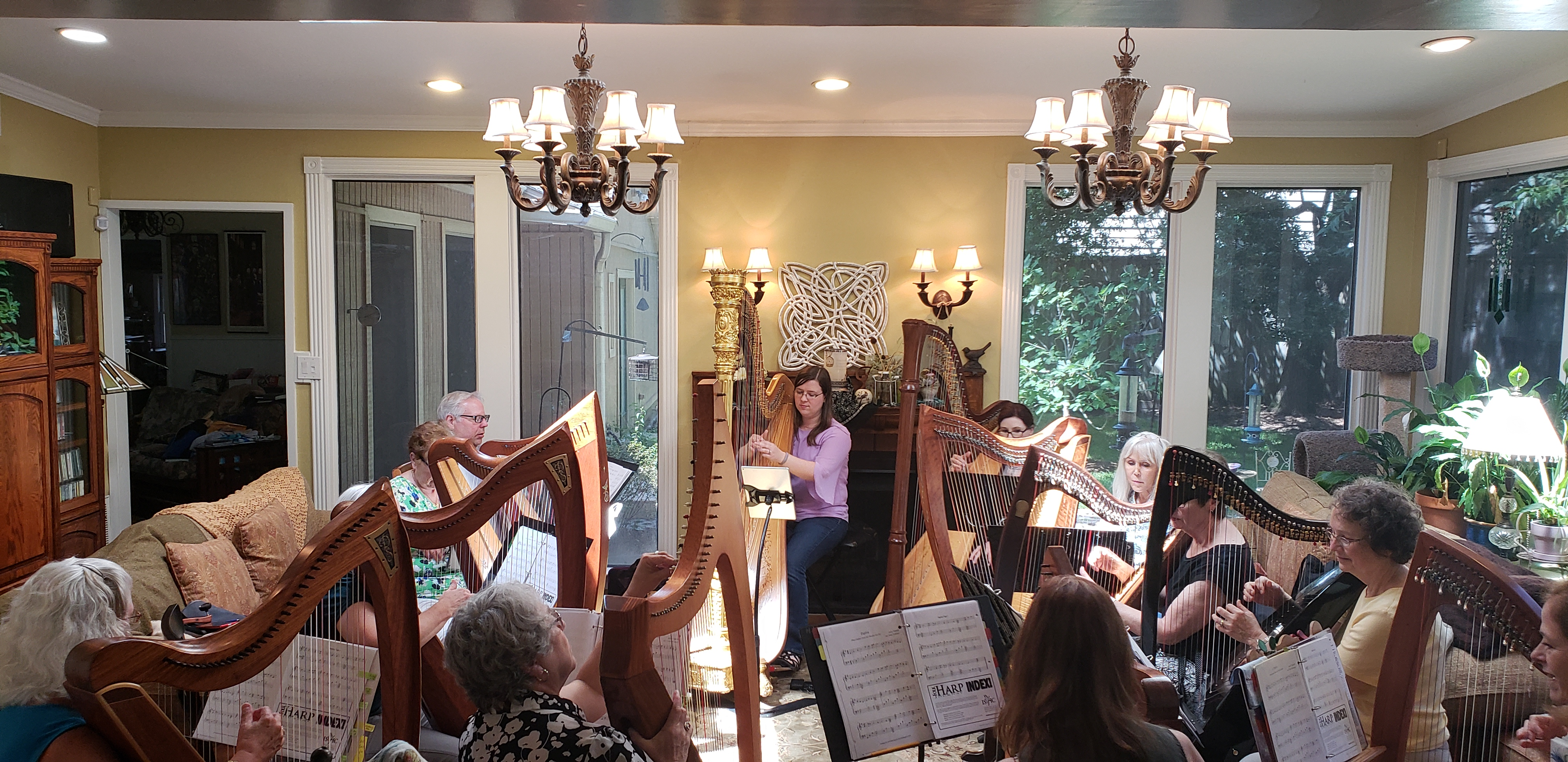Gulf Coast Harpers Fall Harp Recital