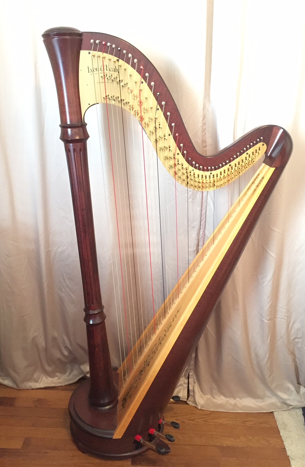 Lyon and Healy Style 85 Petite Pedal Harp