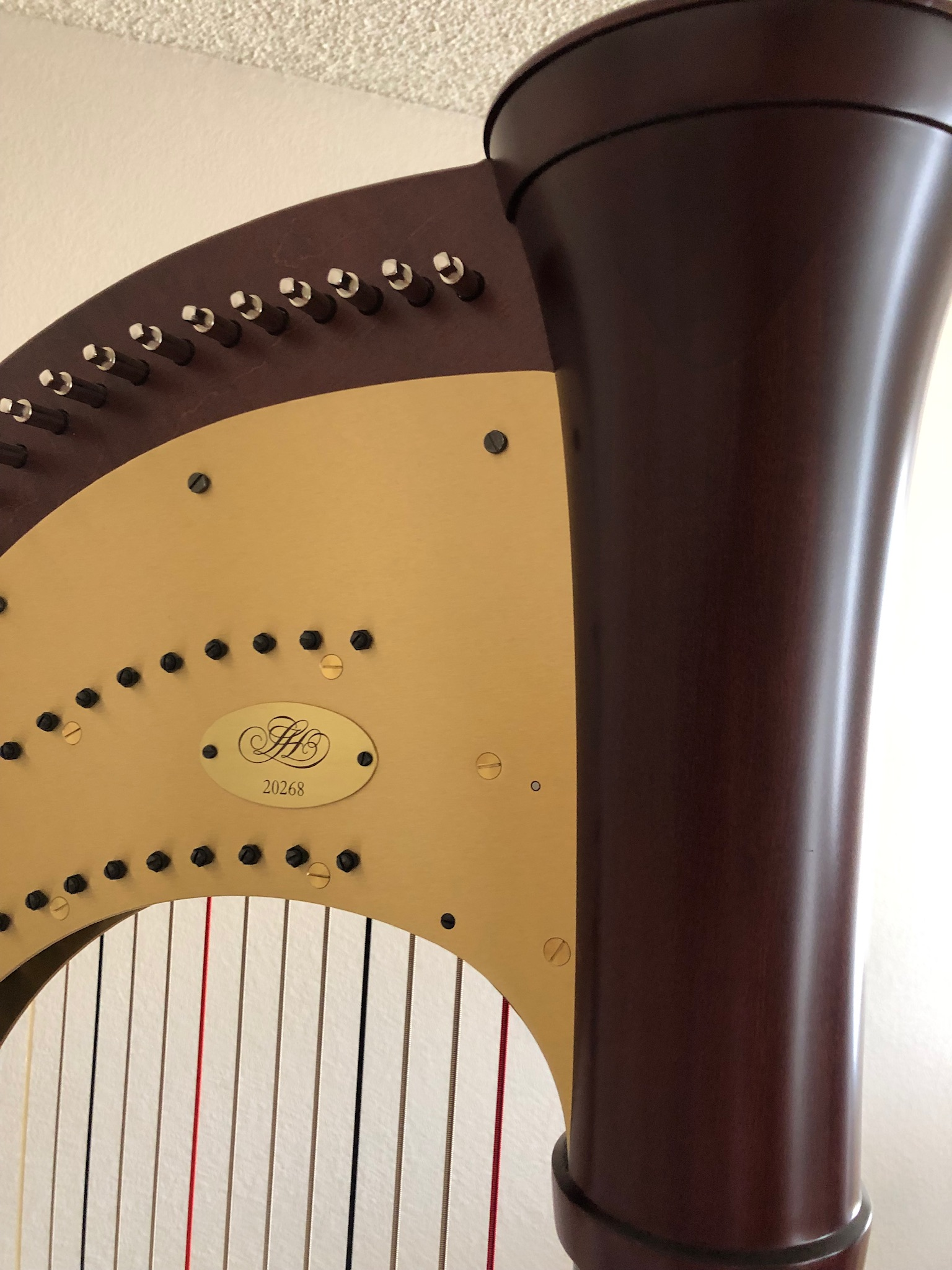 Lyon and Healy 150 pedal harp