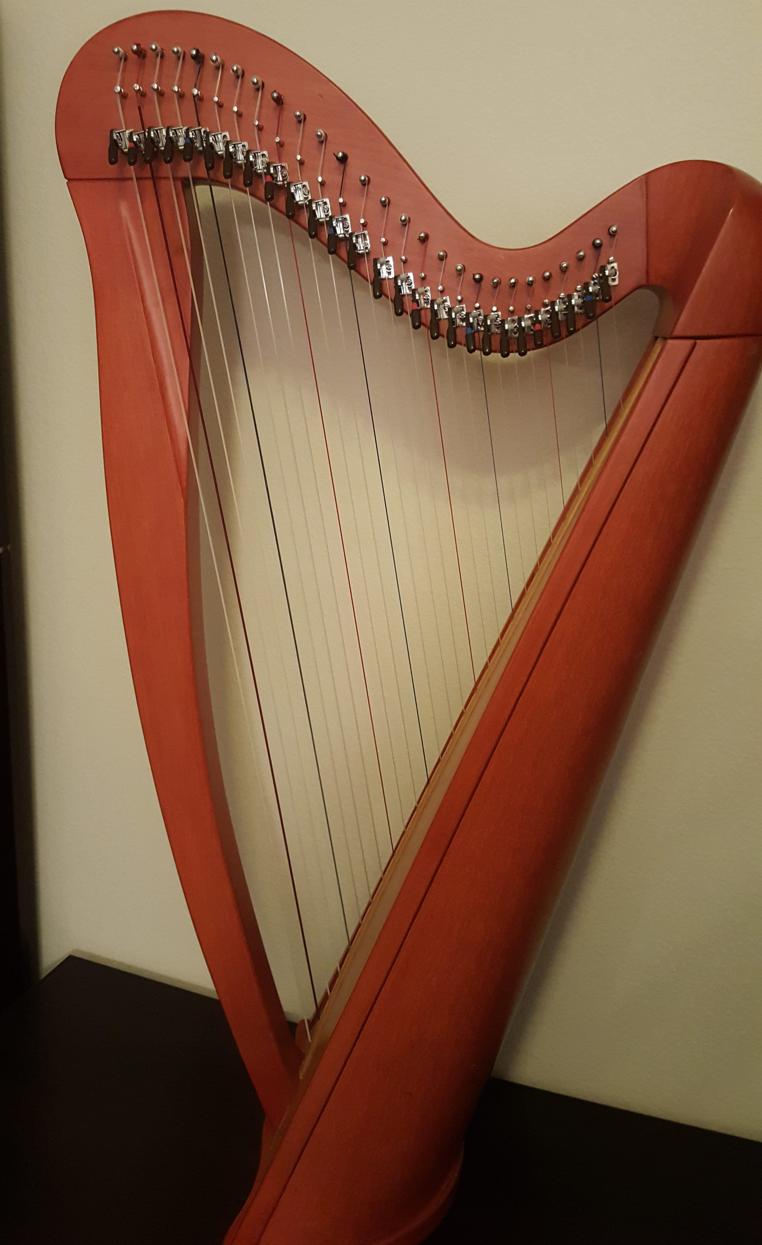 27 String fully levered Harp for rent