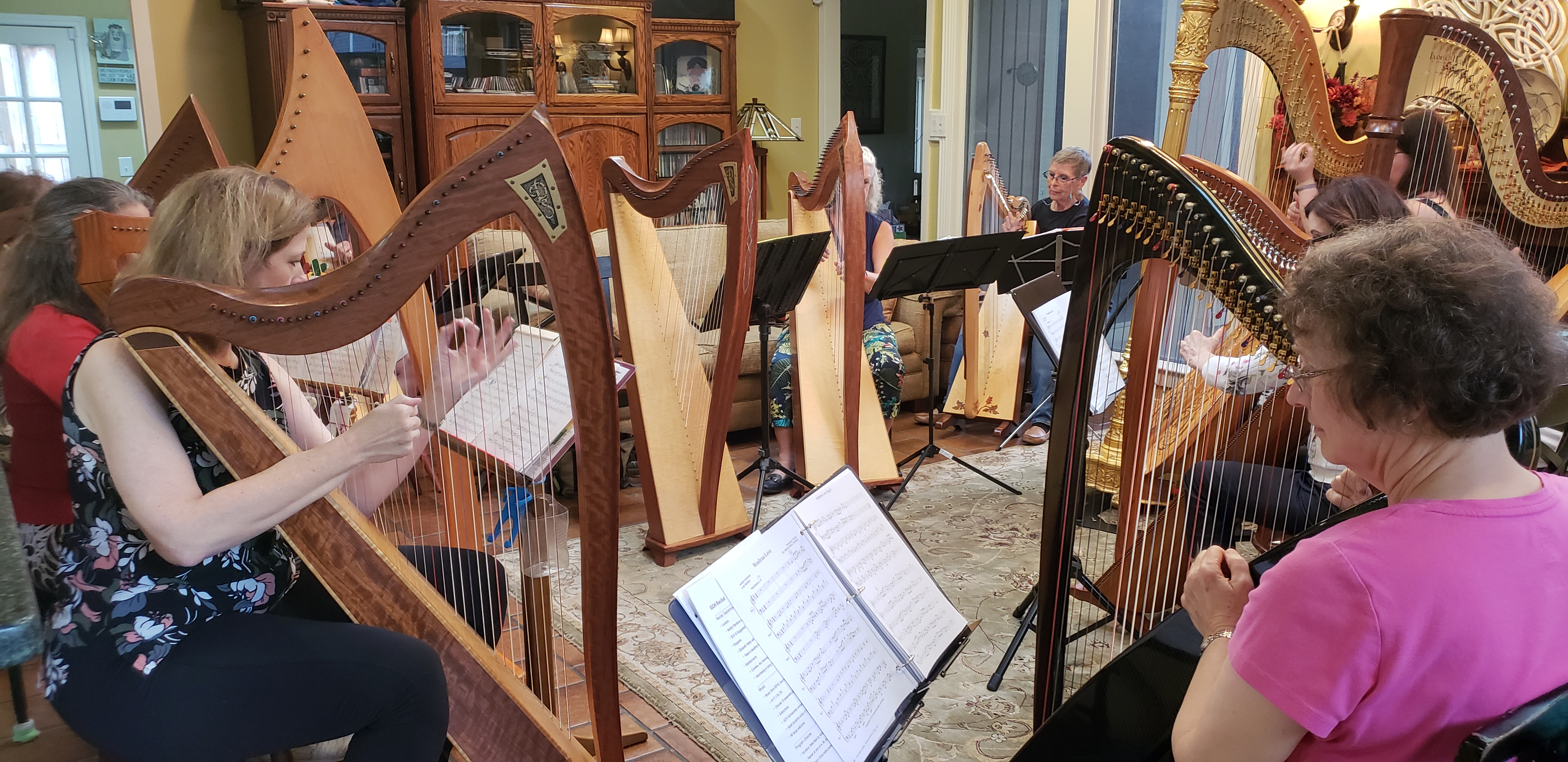 "Harp Workshop ""Uniquely Yours"" with Kimberly DeRosa"