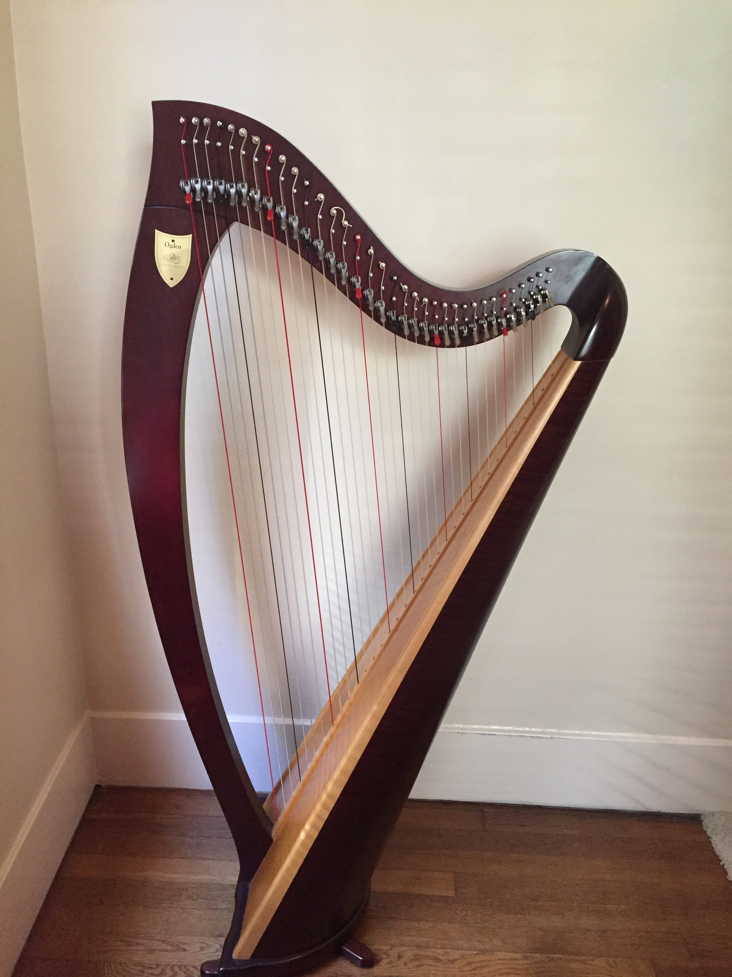 Lyon and Healy Ogden Lever Harp for Rent