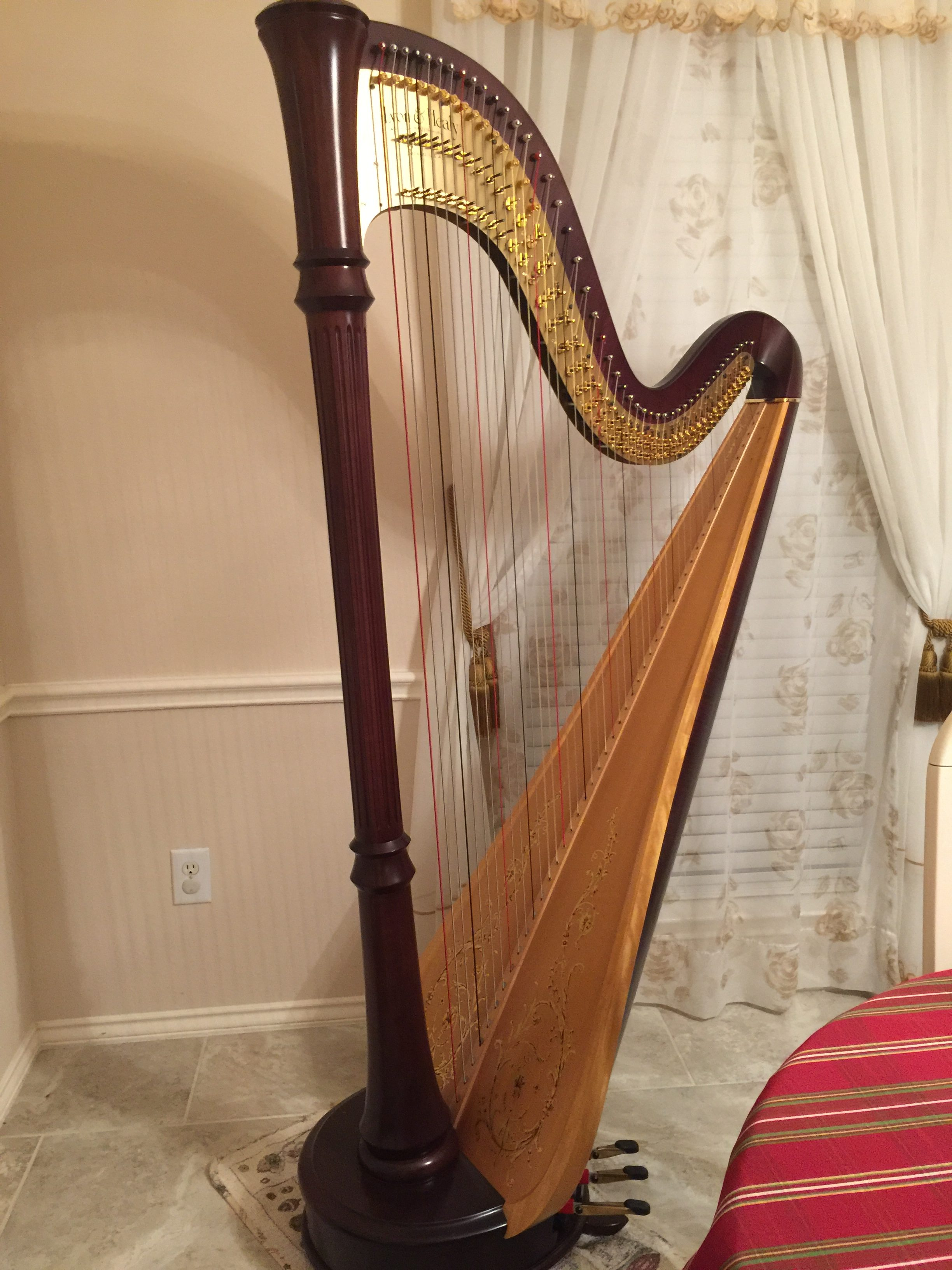 Lyon and Healy Concert Grand Style 85 For Sale