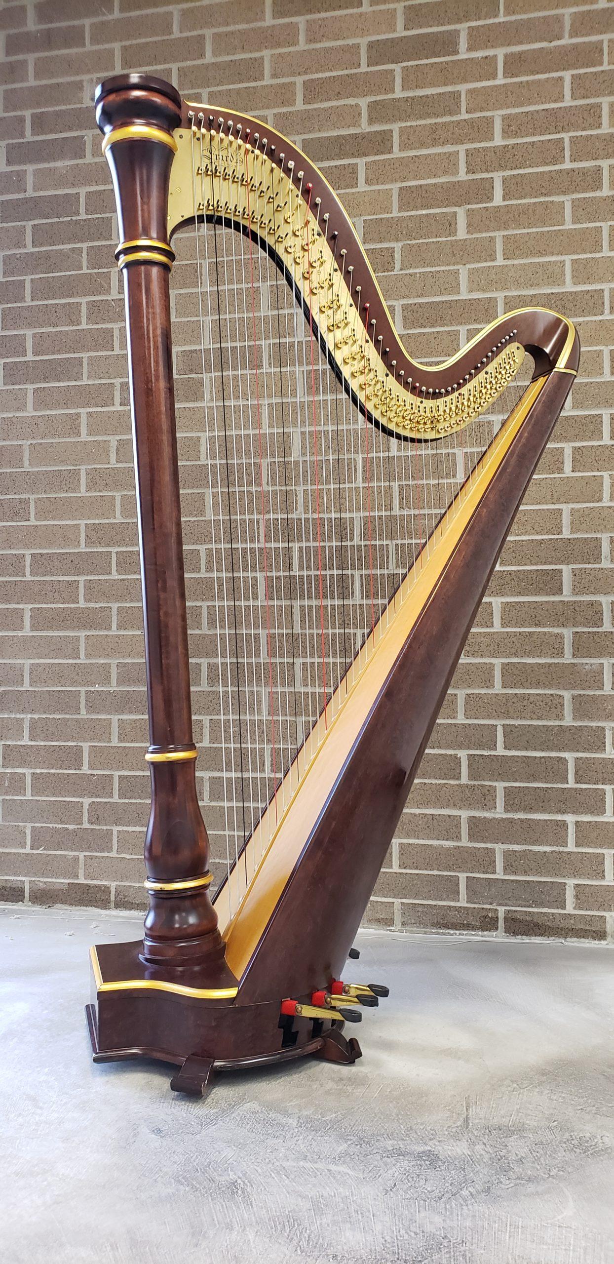 Semi-Grand Salvi Pedal harp for rent